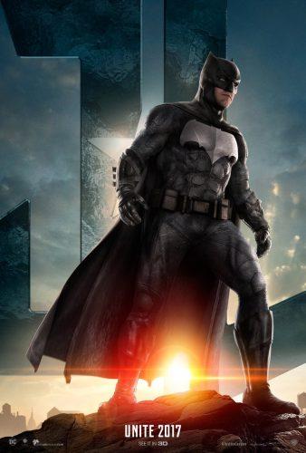 justice league movie poster batman