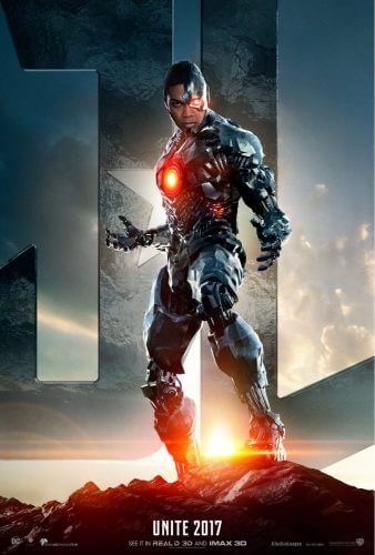 justice league movie poster cyborg