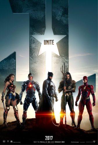 justice league movie poster ensemble