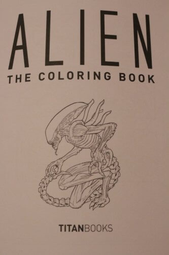 Alien Coloring Book Titan Books 1