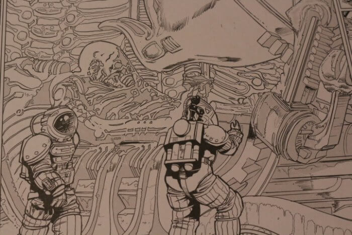 Alien Coloring Book Titan Books 3