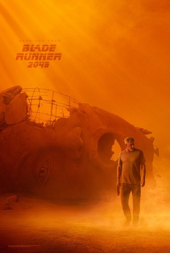 blade runner 2049 new movie poster harrison ford