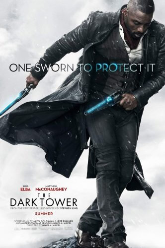 dark tower movie poster idris elba gunslinger