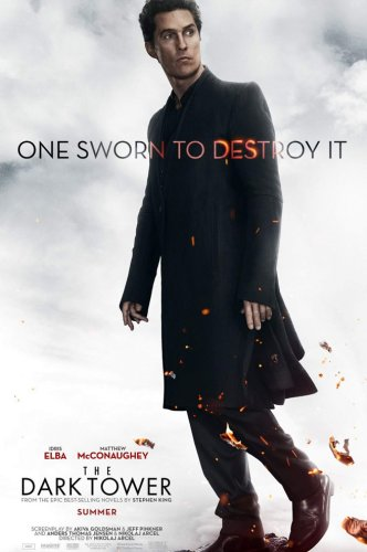 dark tower movie poster matthew mcconaughey man in black