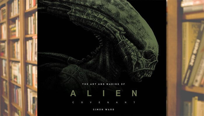 art making alien covenant titan books