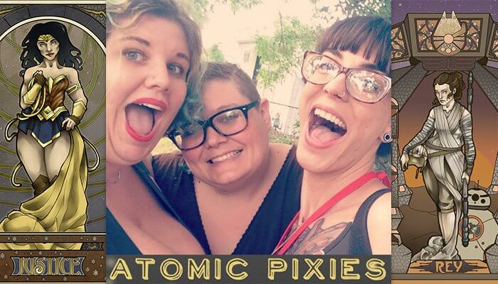atomic pixies artist spotlight dcc2017