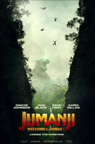 jumanji movie poster 2017