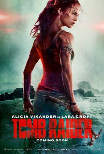 tomb raider 2018 movie poster