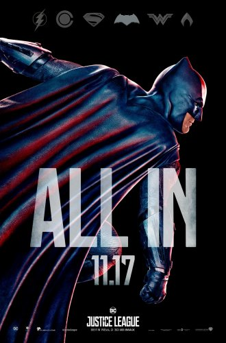 justice league 2017 batman character poster