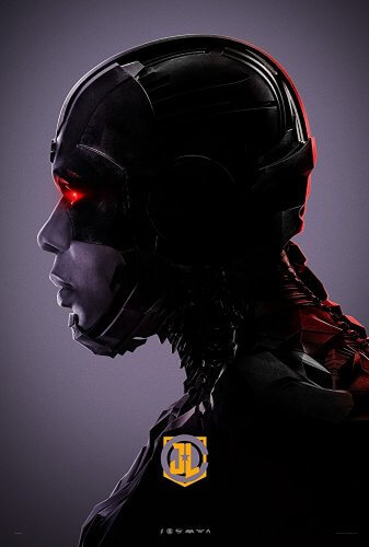 justice league 2017 cyborg character poster 2
