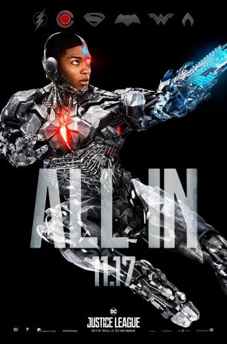 justice league 2017 cyborg character poster
