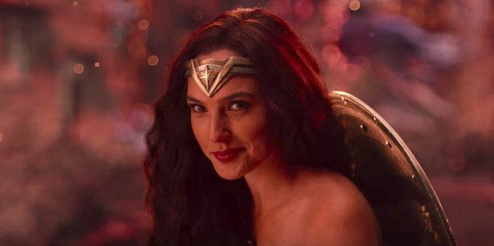 justice league movie trailer 2017 new wonder woman smirk