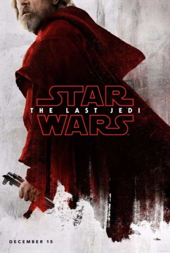 luke-skywalker star wars last jedi character poster