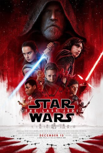 star wars last jedi episode 8 movie poster