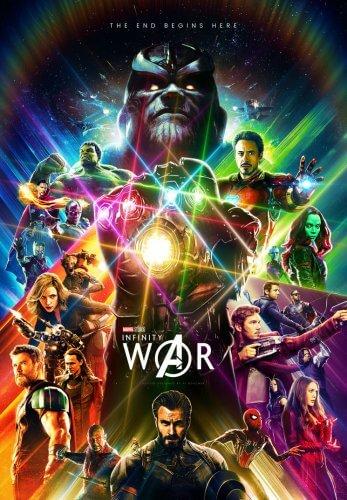 avengers infinity war fan poster