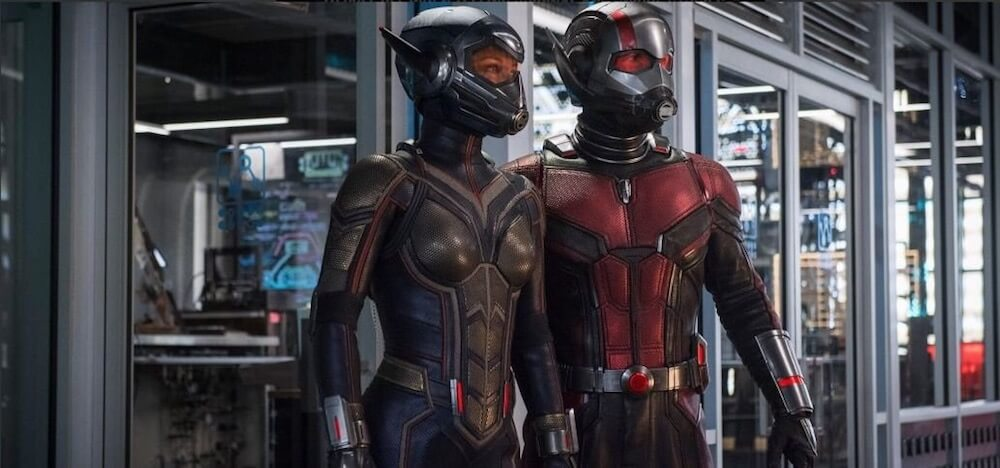 New ANT-MAN AND THE WASP image sees Paul Rudd and Evangeline Lilly in costume