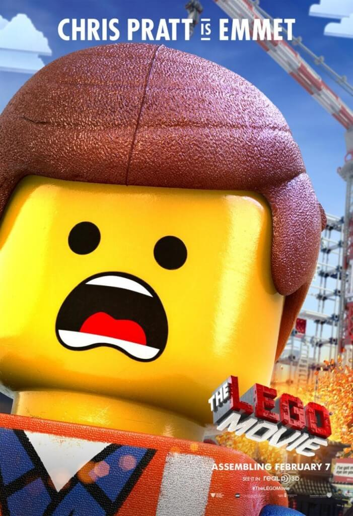 geek out new posters for the lego movie midroad movie