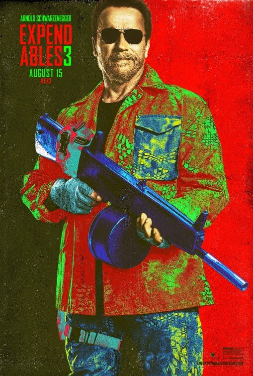 geek out colorful new expendables 3 posters surface