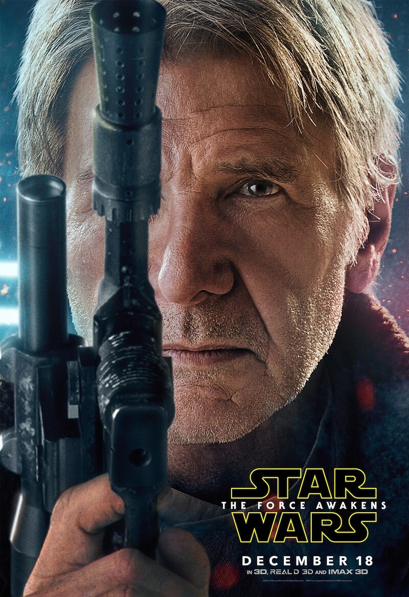 STAR WARS: EPISODE VII – THE FORCE AWAKENS character posters recently made the rounds