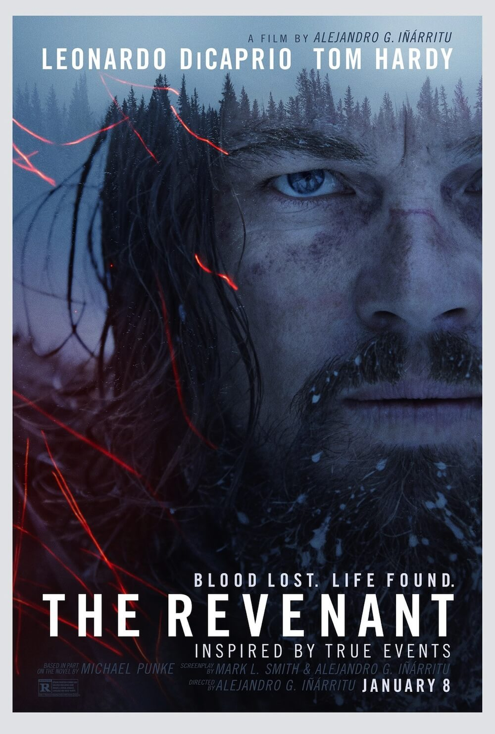 THE REVENANT official teaser poster and two character posters have surfaced