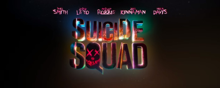 New SUICIDE SQUAD trailer and posters featuring the cast as stylized skull portraits