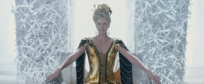 THE HUNTSMAN: WINTER'S WAR brings back Hemsworth and Theron for a Snow White sequel