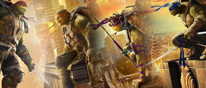 TEENAGE MUTANT NINJA TURTLES: OUT OF THE SHADOWS gets four character posters