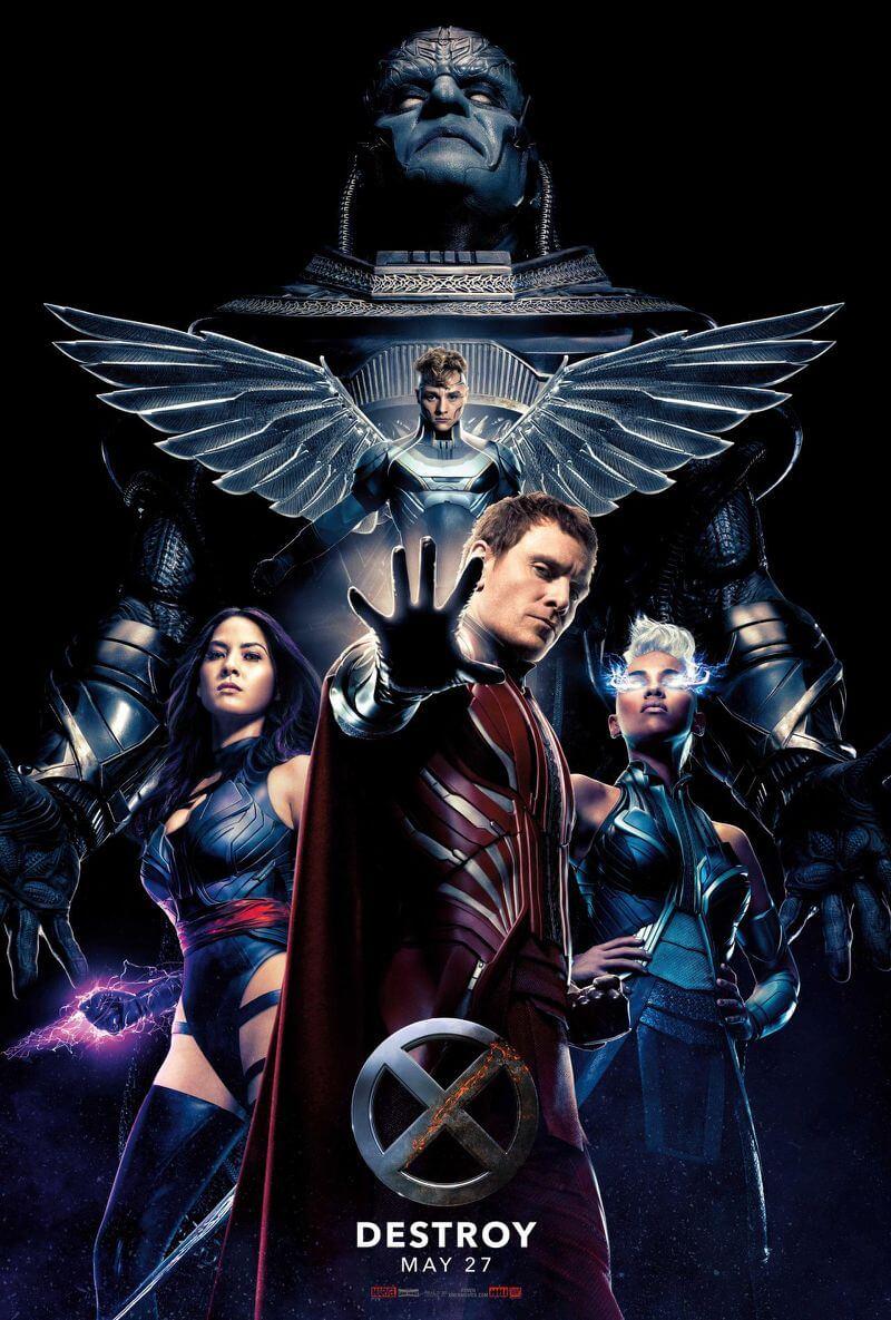 New X-MEN: APOCALYPSE poster features villain and four horsemen