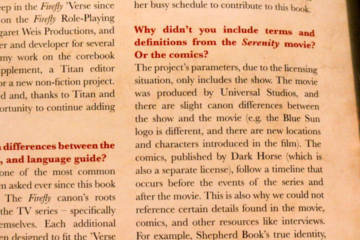 the language of firefly Firefly chinese translations inconsistent language in firefly and serenity i'm sure this is an old topic but she's new to firefly and thought i'd clarify that in the 'verse of firefly, i suppose all of china as the superpower converged into one dialect.