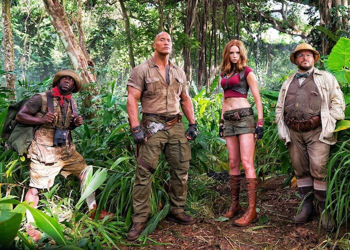 JUMANJI: WELCOME TO THE JUNGLE trailer replaces the board with a Nintendo
