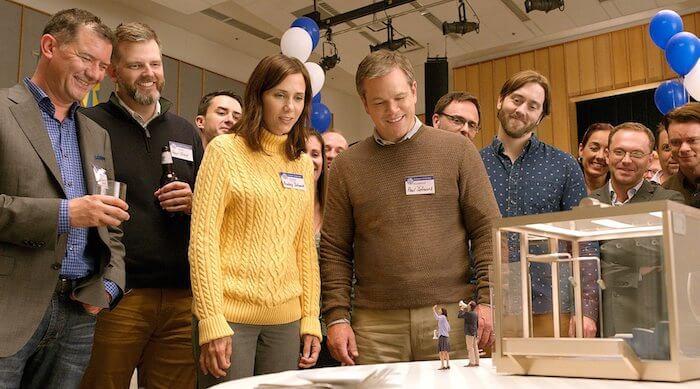 DOWNSIZING trailer is Matt Damon's Honey I Shrunk the Kids! world for wealthy adults