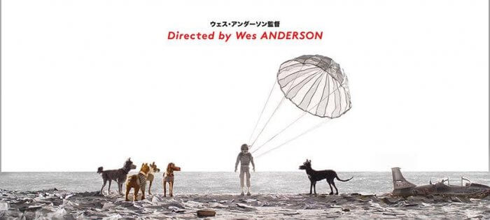 wes anderson isle of dogs movie poster 2
