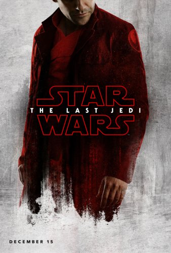 poe star wars last jedi character poster