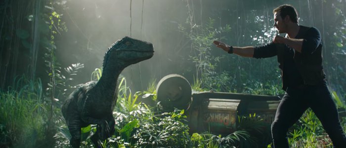 JURASSIC WORLD: FALLEN KINGDOM trailer…uh…finds a way online
