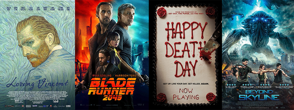 DVD & BLU-RAY week of January 16, 2018: Blade Runner, Loving Vincent, Happy Death Day and more
